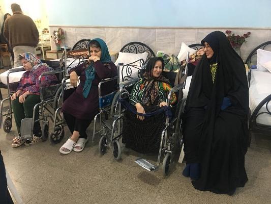 بازدید از خانه سالمندان موسسه باب الحوائج توسط سازمان فرهنگی اجتماعی و ورزشی شهرداری قائم شهر